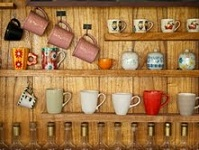 A collection of cups